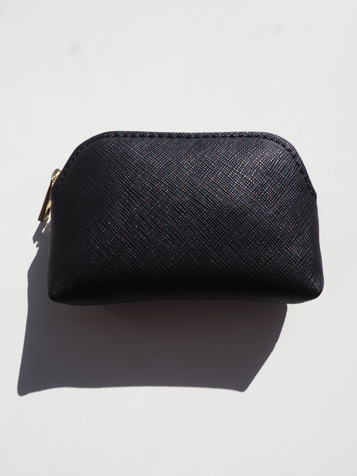 THE ESSENTIAL ZIP POUCH - BLACK