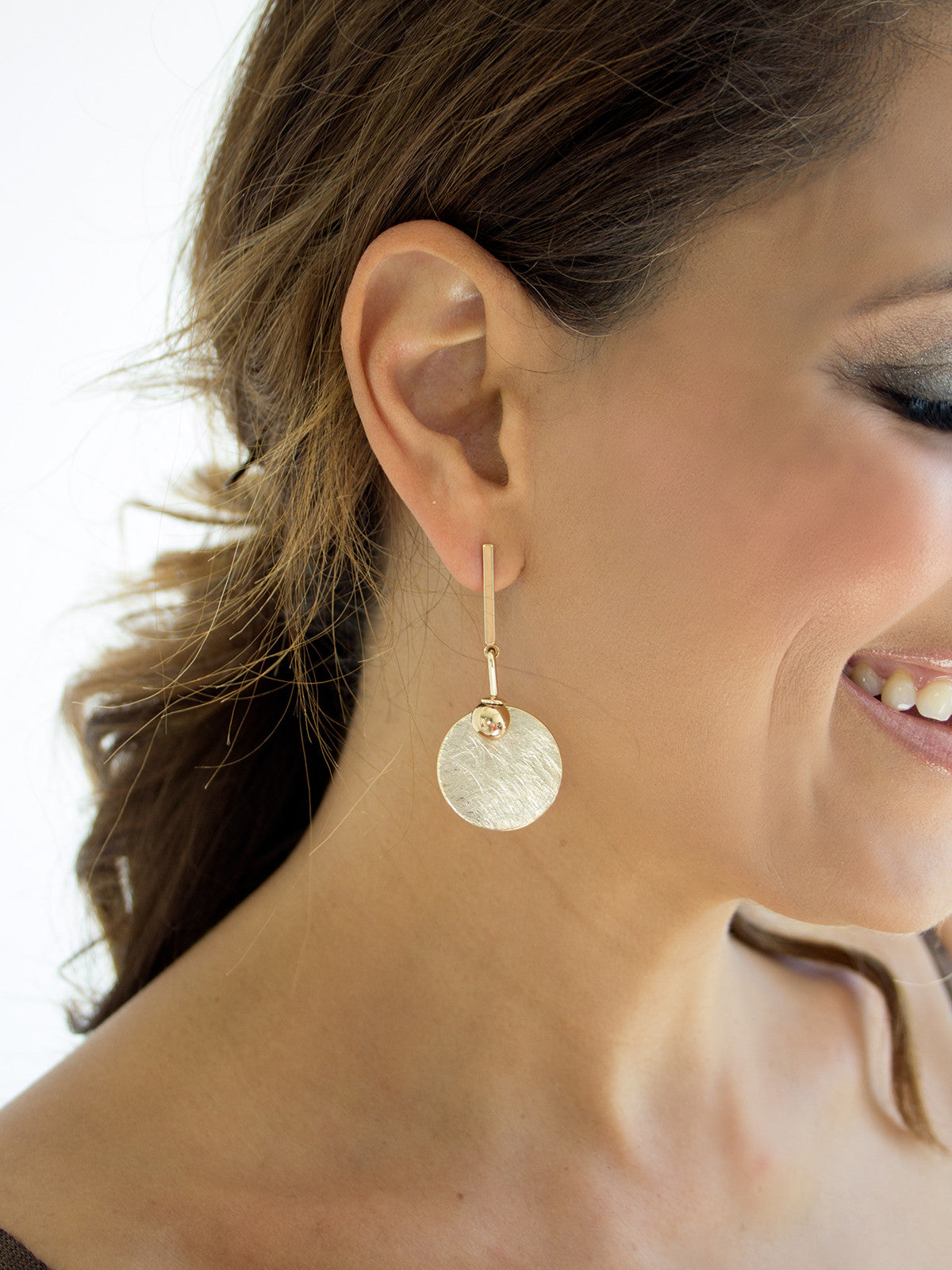 YOU'RE THE ONE LUXE GOLD EARRINGS
