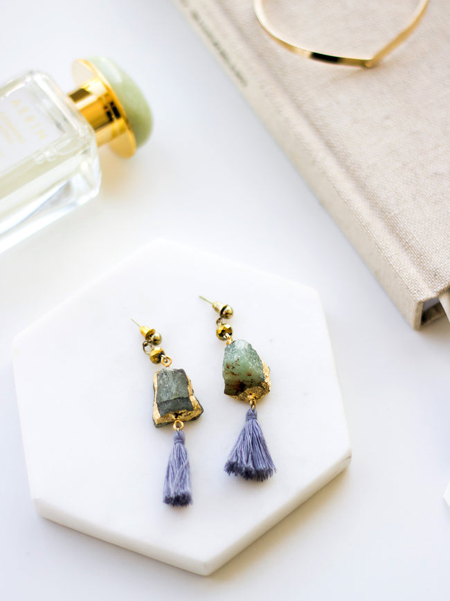 PARIS LOVE AFFAIR STATEMENT EARRINGS