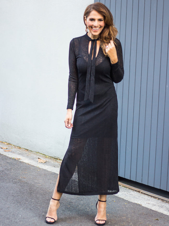 FRANKLY MY DEAR MAXI DRESS