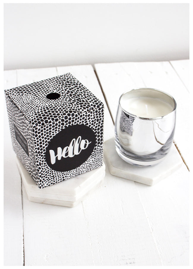 HELLO SCENTED CANDLE