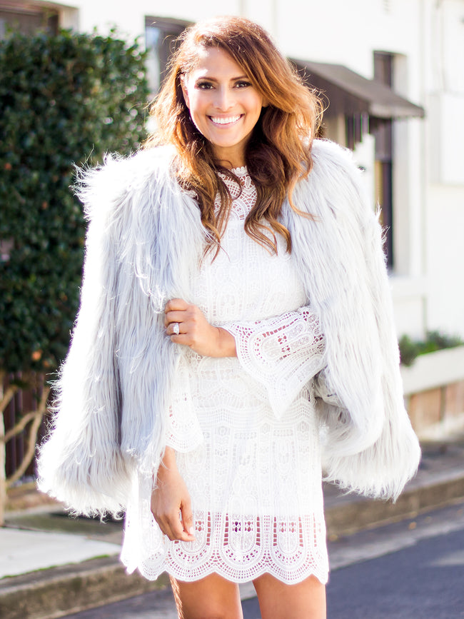 ICE MAIDEN FAUX FUR JACKET