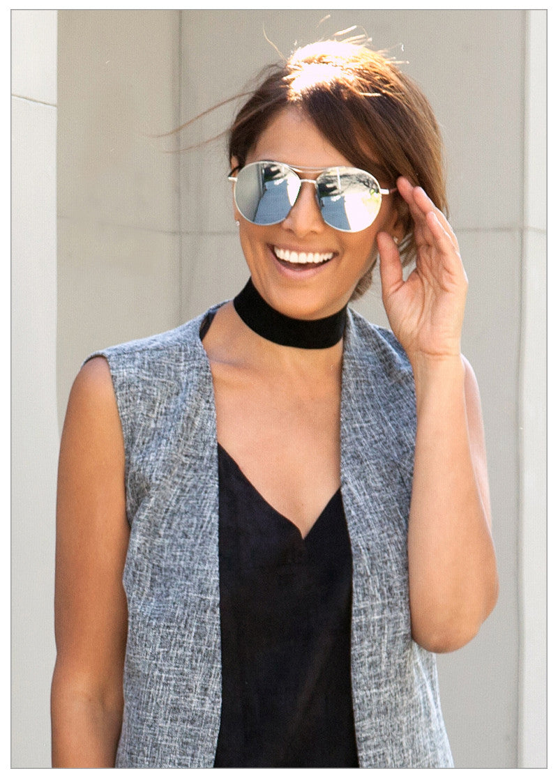 THE JENNER MIRRORED SUNNIES