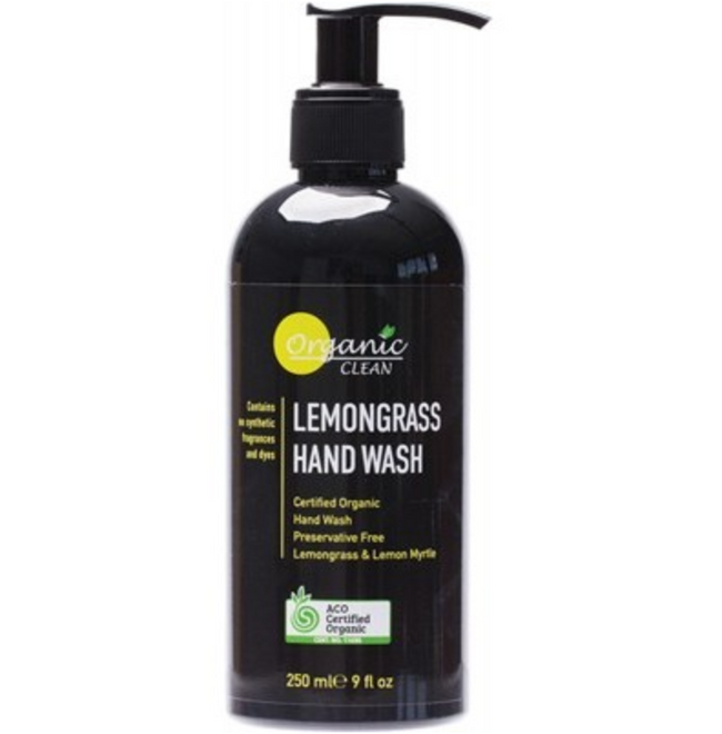 ORGANIC LEMONGRASS HAND WASH