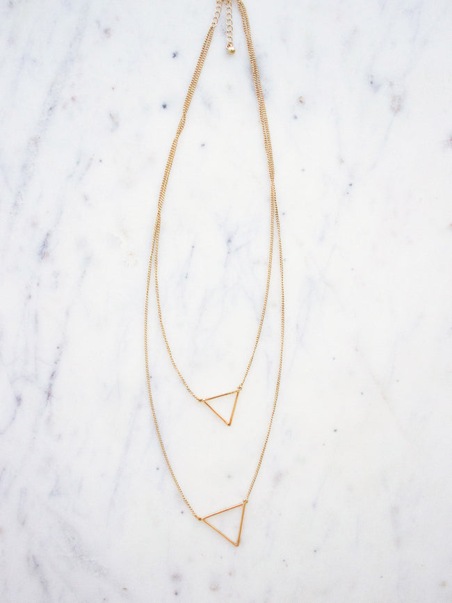 WEEKEND LOVERS GOLD NECKLACE