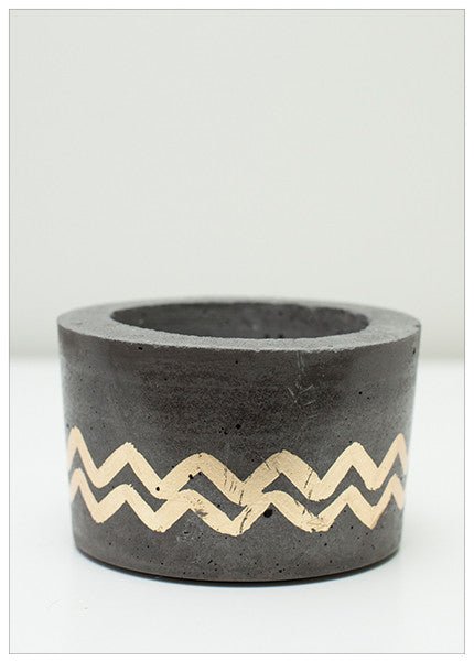 WILLIAMSBURG NYC LUXE CONCRETE POTS