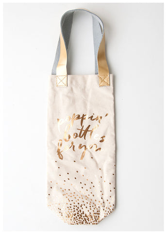 THE DARLING POPPIN' BOTTLES WINE BAG