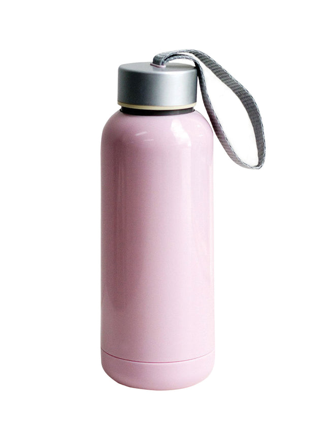 MAKE IT HAPPEN TRAVEL TUMBLER - PINK