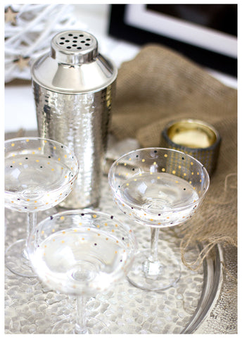 THE DARLING CHAMPAGNE GLASSES (SET OF 2)