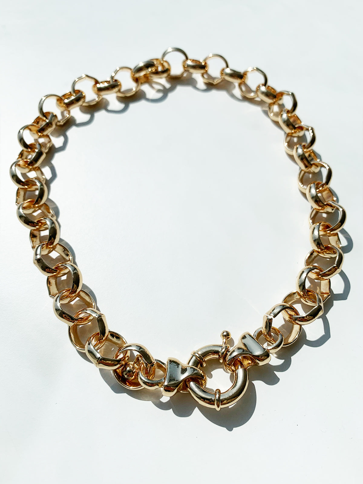 RIGHT KIND OF LOVE STATEMENT NECKLACE