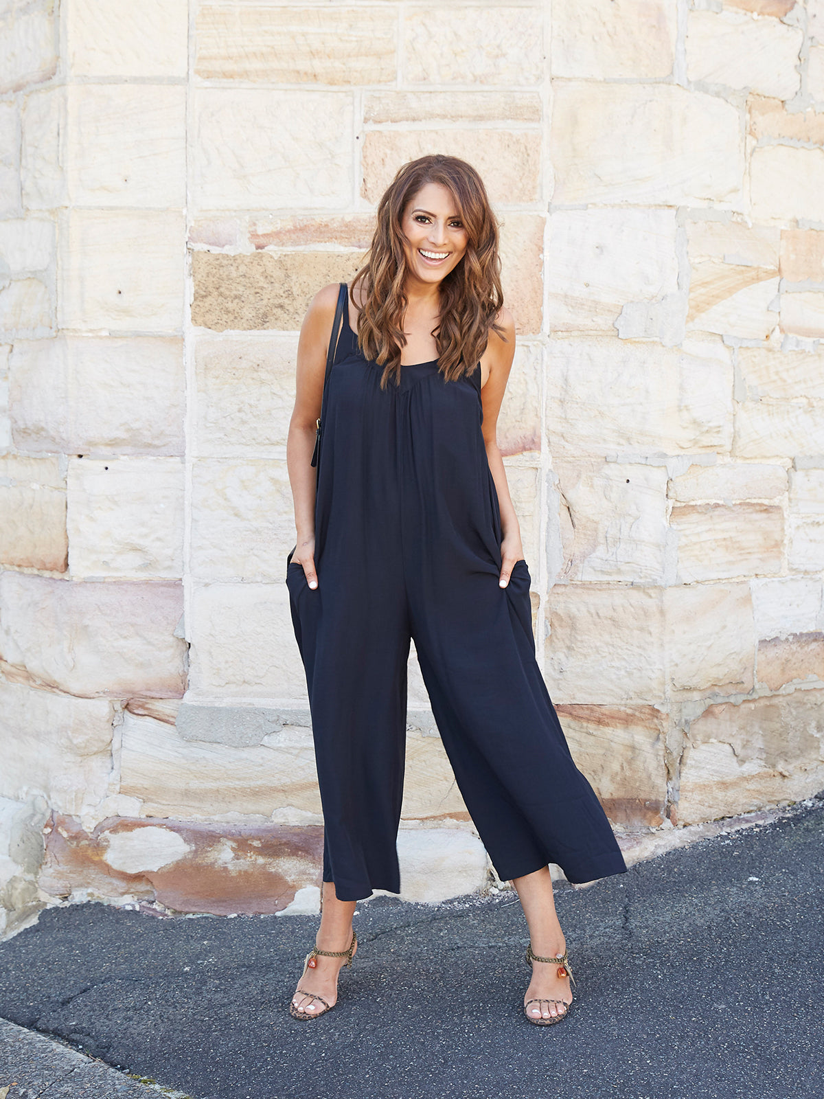 MODERN WORLD BLACK JUMPSUIT