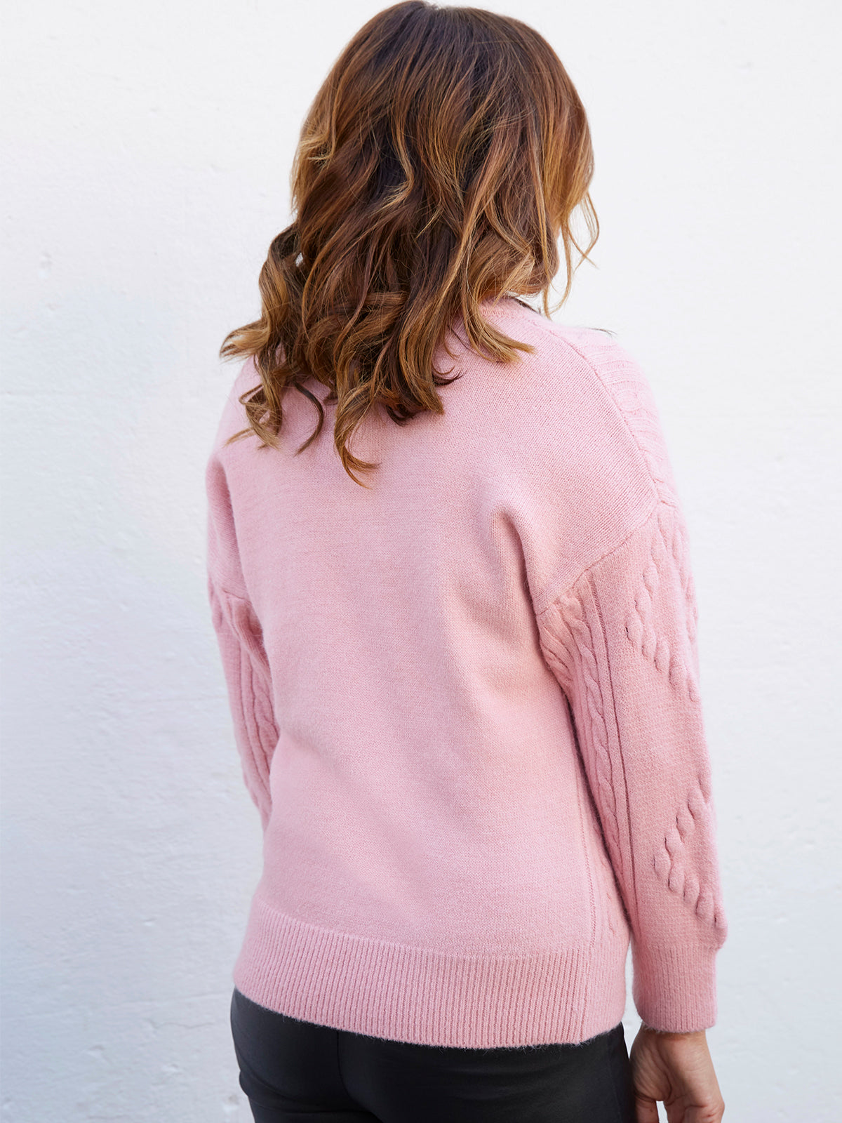 HEART & SOUL ROSE PINK KNIT