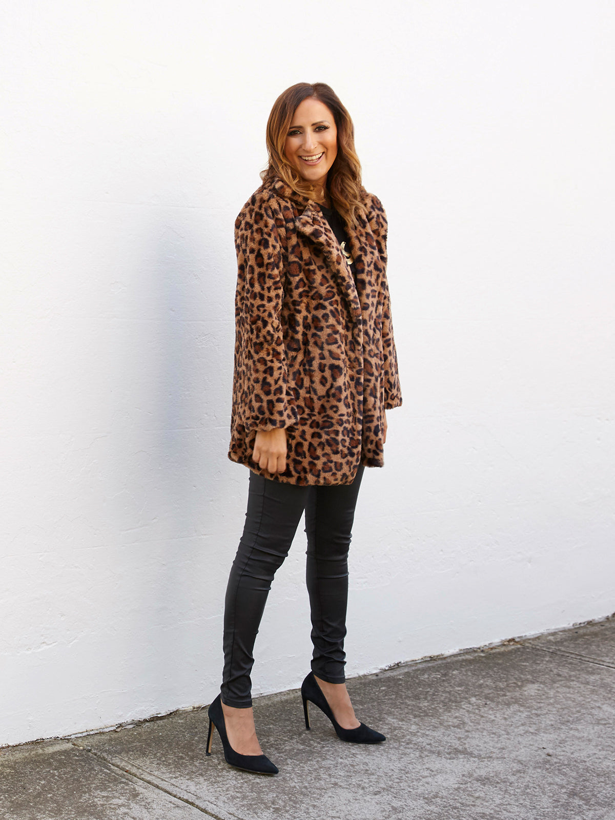 WILD LOVE LEOPARD COAT
