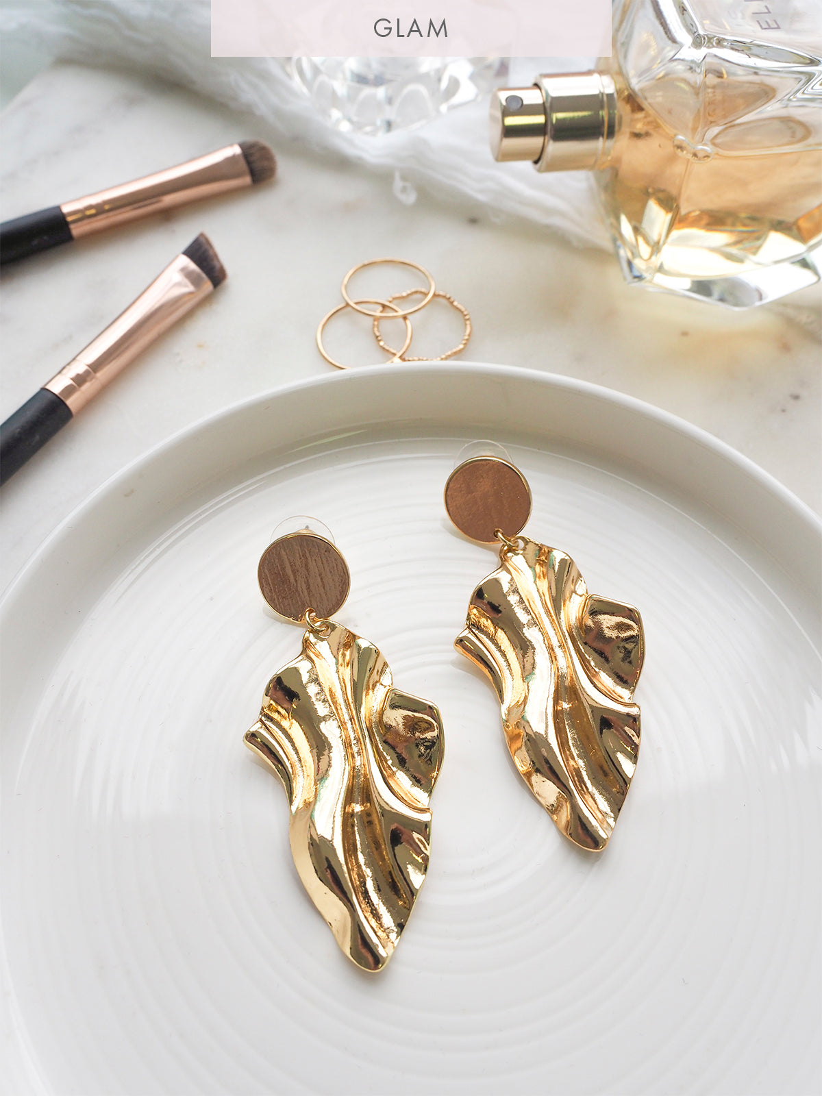 CALI GLAMOUR LUXE EARRINGS