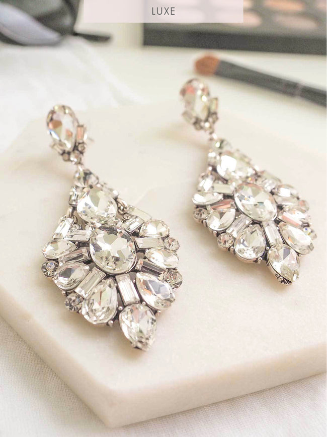 ETERNAL LUXE STATEMENT EARRINGS