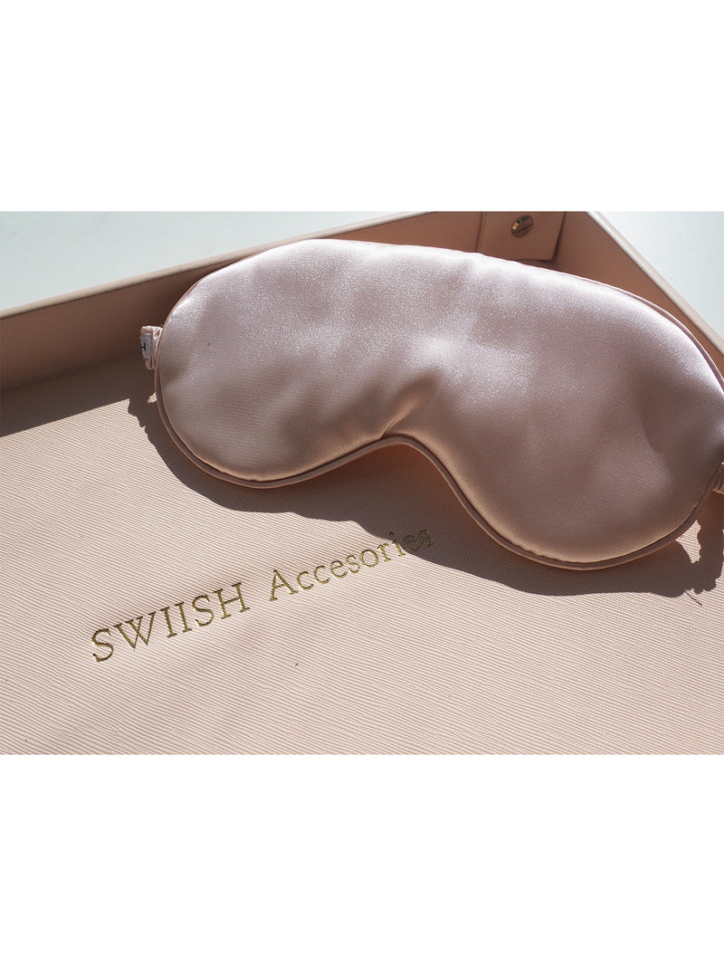 THE LUXE SILK SLEEP MASK