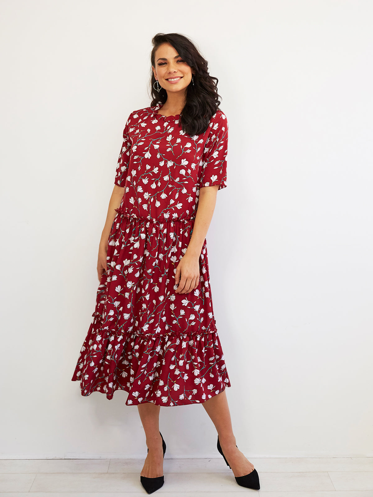 SOHO SWEETHEART FLORAL DRESS