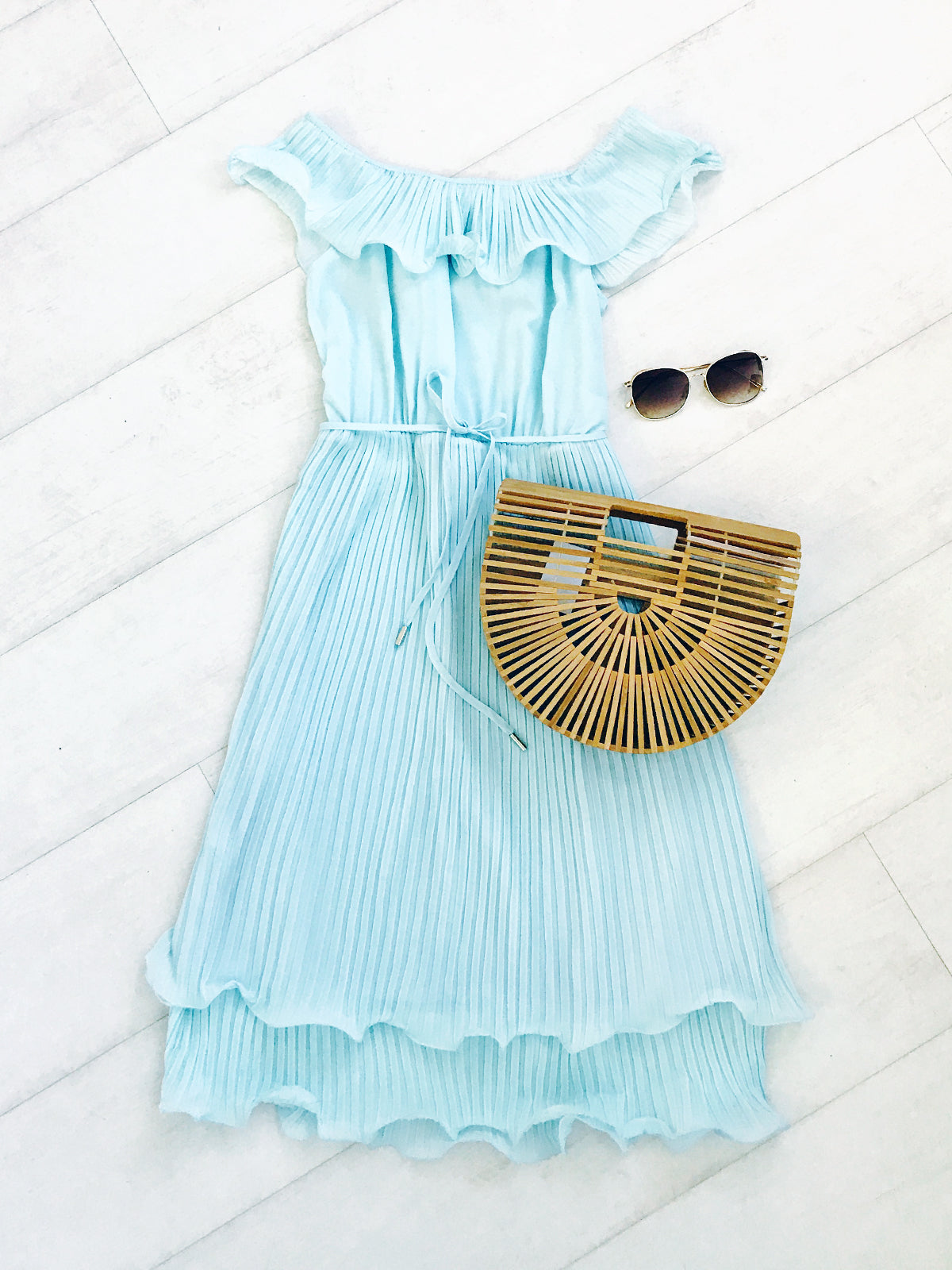 SUNSETS IN PARADISE DRESS