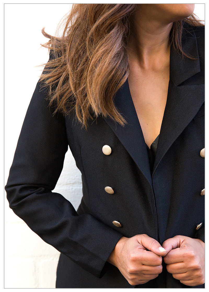 TAKE CONTROL BLAZER - BLACK