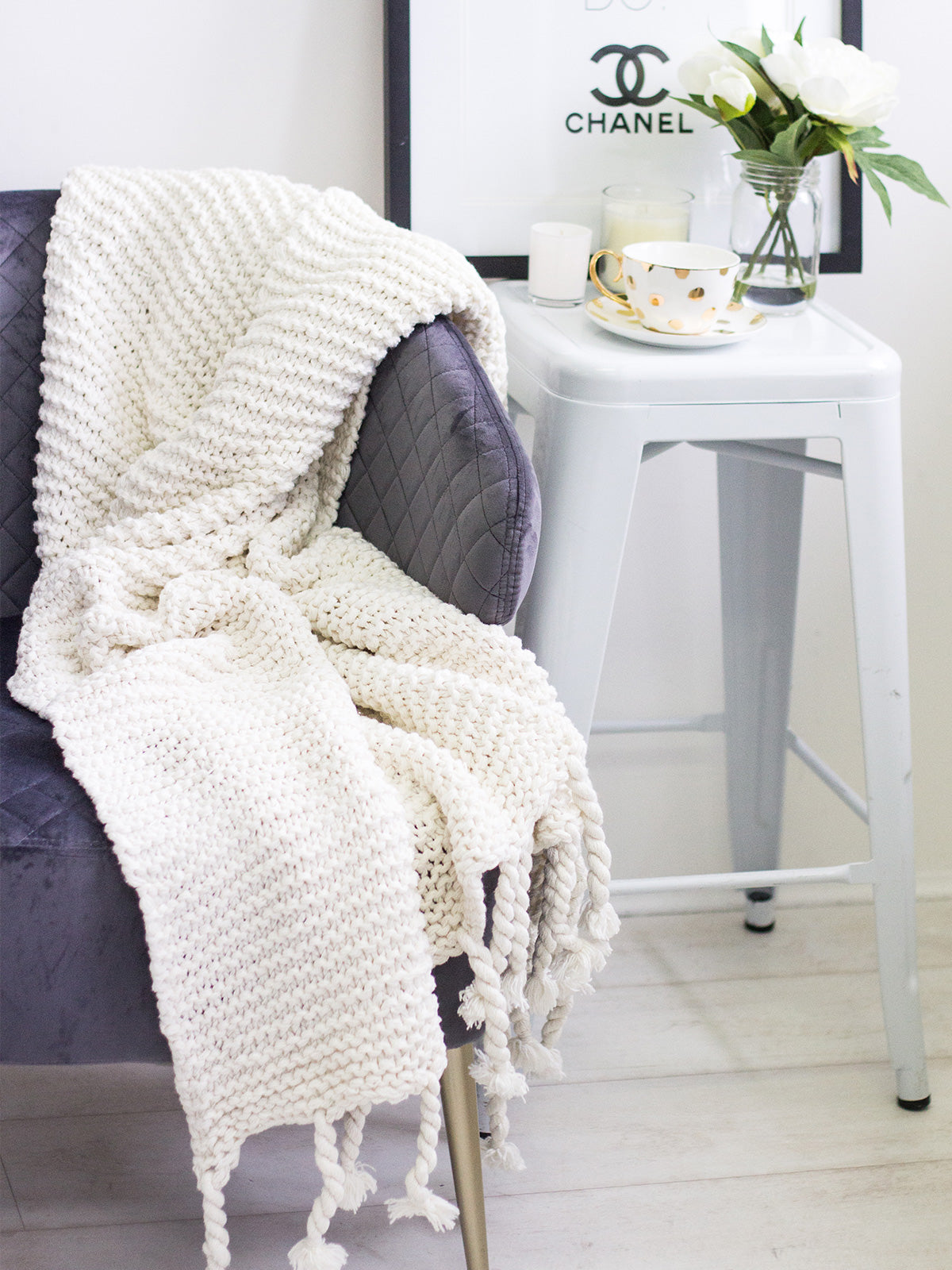 TIME AND TIDE LUXE THROW