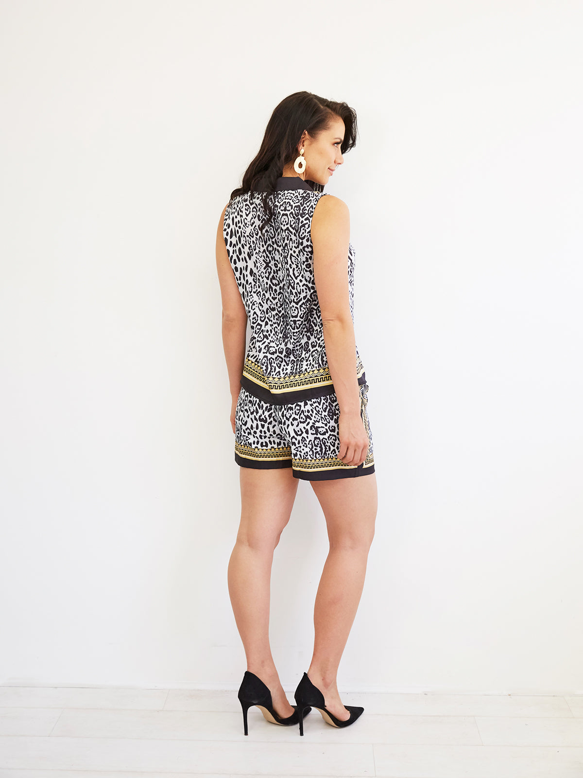 THE VOYAGE OF LOVE PRINTED SHORTS
