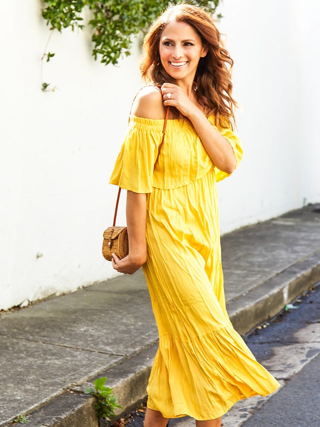 WHOLE LOT OF LOVIN MAXI DRESS