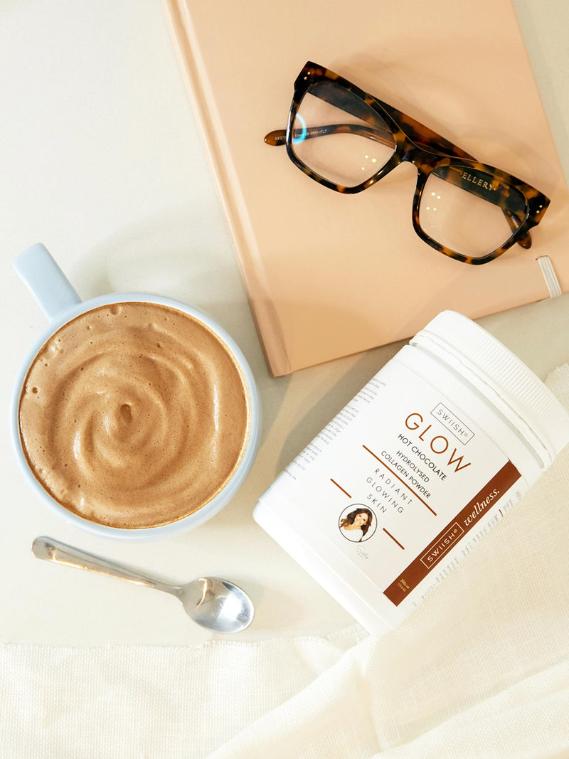 GLOW HOT CHOCOLATE HYDROLYSED COLLAGEN POWDER - SUBSCRIPTION