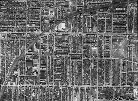 Aerial View of Leslieville