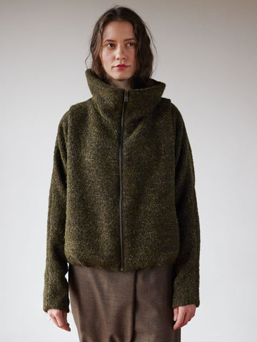Understory Coat No.1 - Nubby Greens