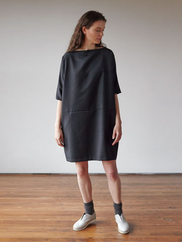 Understory Dress No.1 - Obsidian