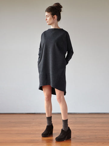 Understory Dress No.2 - Charcoal