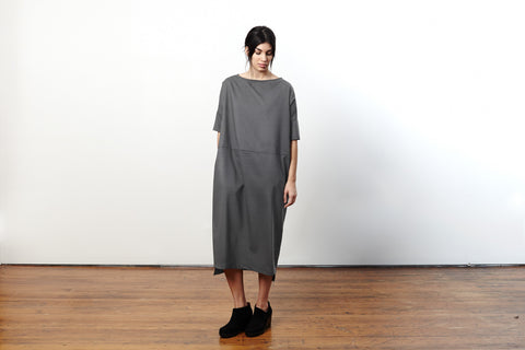 Revel Dress No.15 Concrete