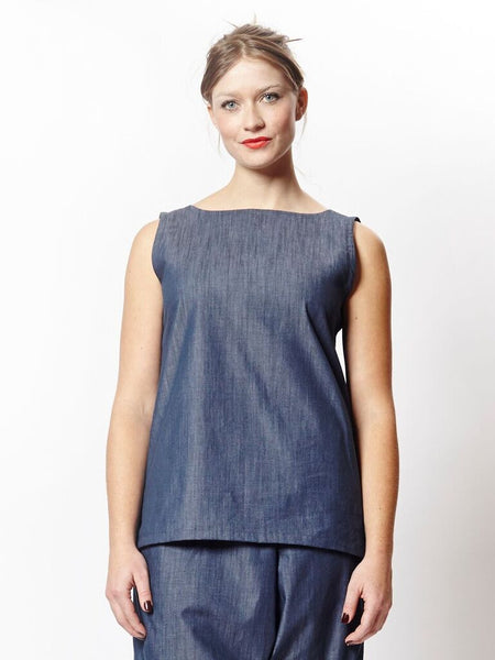 Frolic Top No. 2 - Chambray Union
