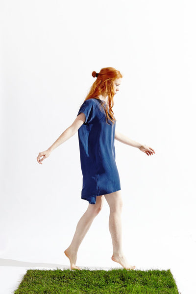 Frolic Dress No.3 - Faded Lapis