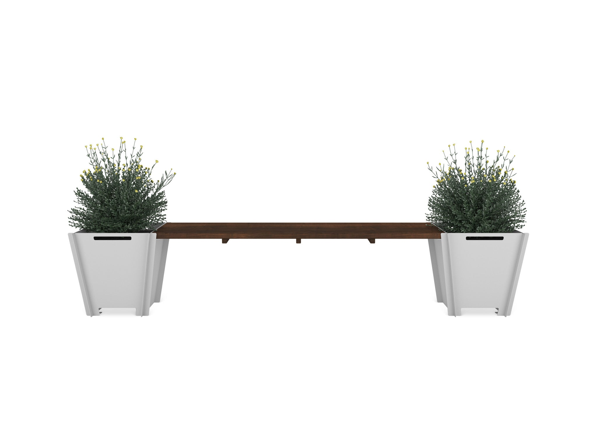 Planter Bench Groovebox Outdoor Living