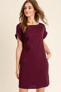 Essential Babe Pocket Knit T-Shirt Dress
