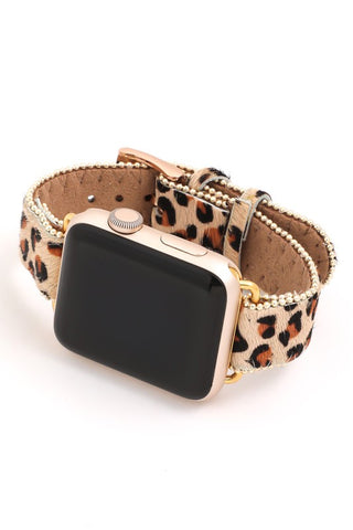 Leaving a Legacy Leopard Apple Watch Band