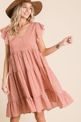 PRE-ORDER!!! So Not Square Midi Swing Dress- 2 Colors!