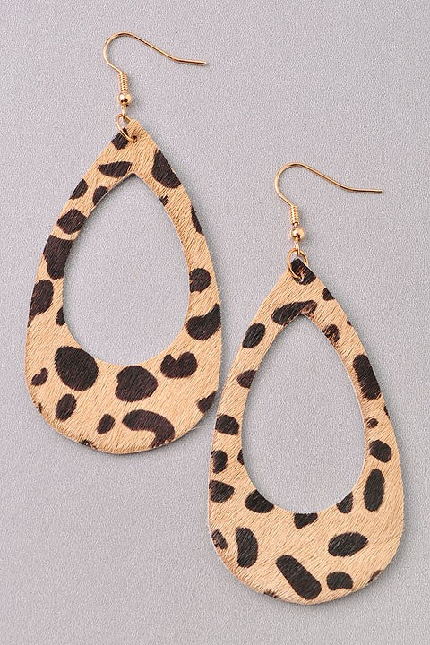 Dreams Come True Leopard Earrings