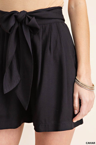 The Daily Edit Culotte Shorts in Black