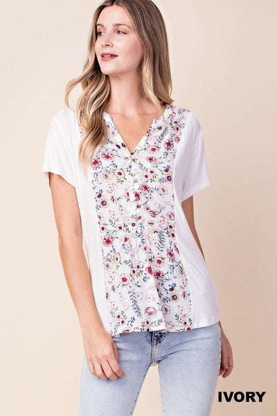 The Summer Bloom Top