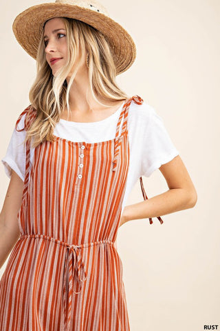 The Jillian Shoulder Strap Jumpsuit