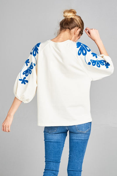 Sleeves That Don't Quit Top