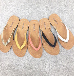 PRE-ORDER ITEM!! The Essential Babe Flip Flop- 4 Colors!!