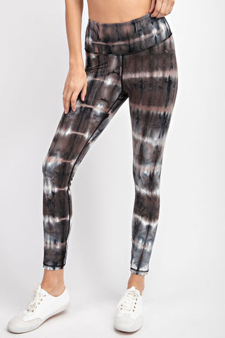 RESTOCKED!! Give Me S'mores Tie-Dye Buttery Soft Leggings