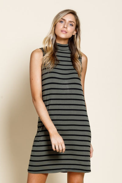 Wrigley Field Stripe Jersey Dress