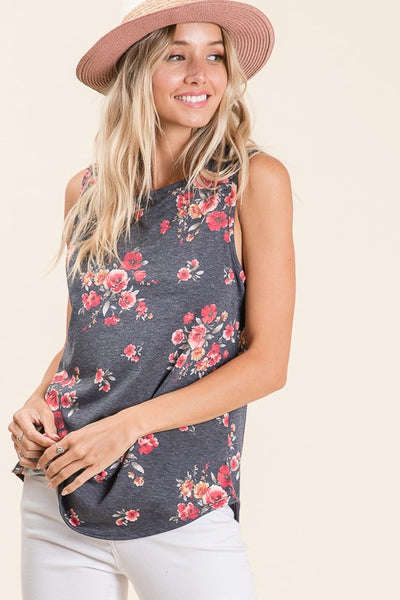 The Perfect Floral Sleeveless Top