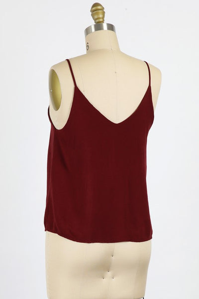 Double Take Swing Cami Top-2 Colors!