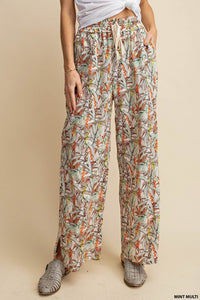 Magnolia Wide Leg Printed Pants