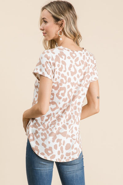 Simply Fierce Animal Print Top